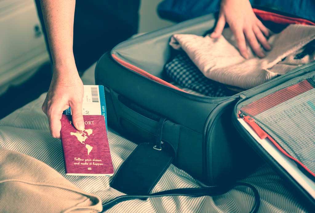 Flugreisen Handgepäck Check