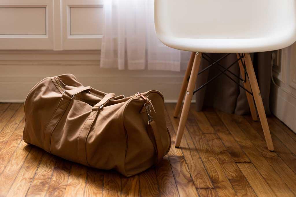 Gepäck für Flughafen