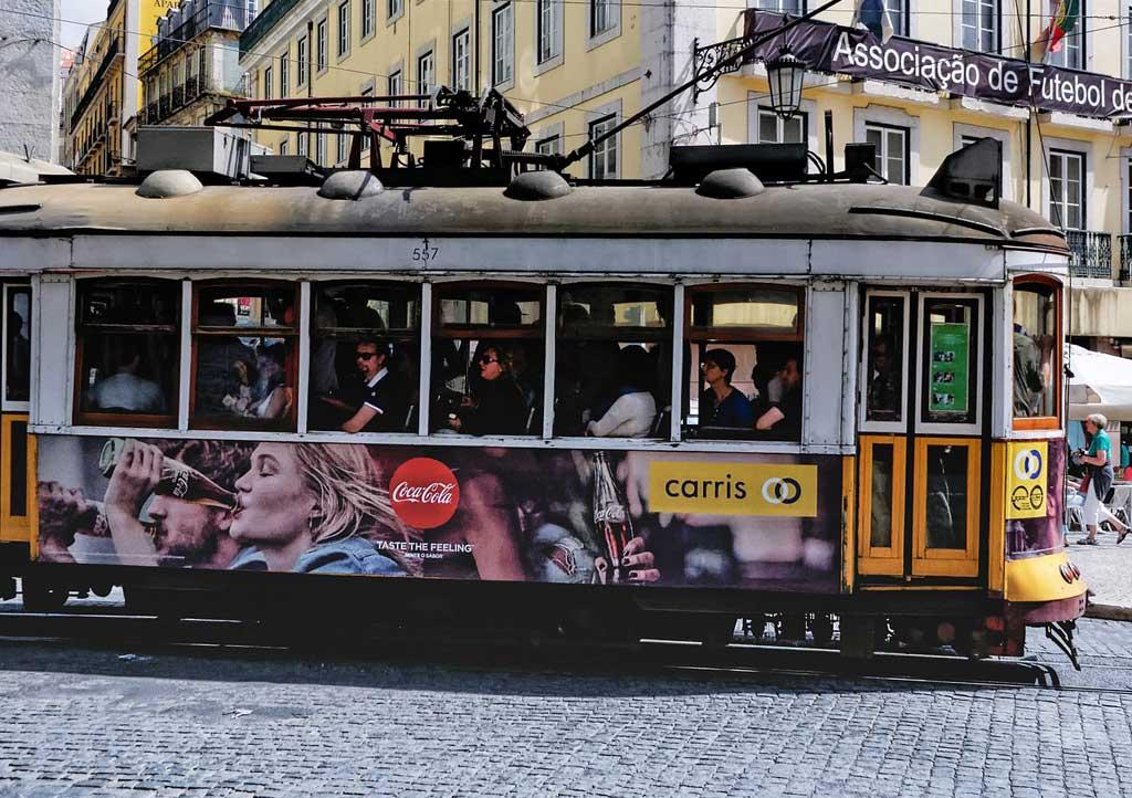 Straßenbahn Lissabon Taschendiebe
