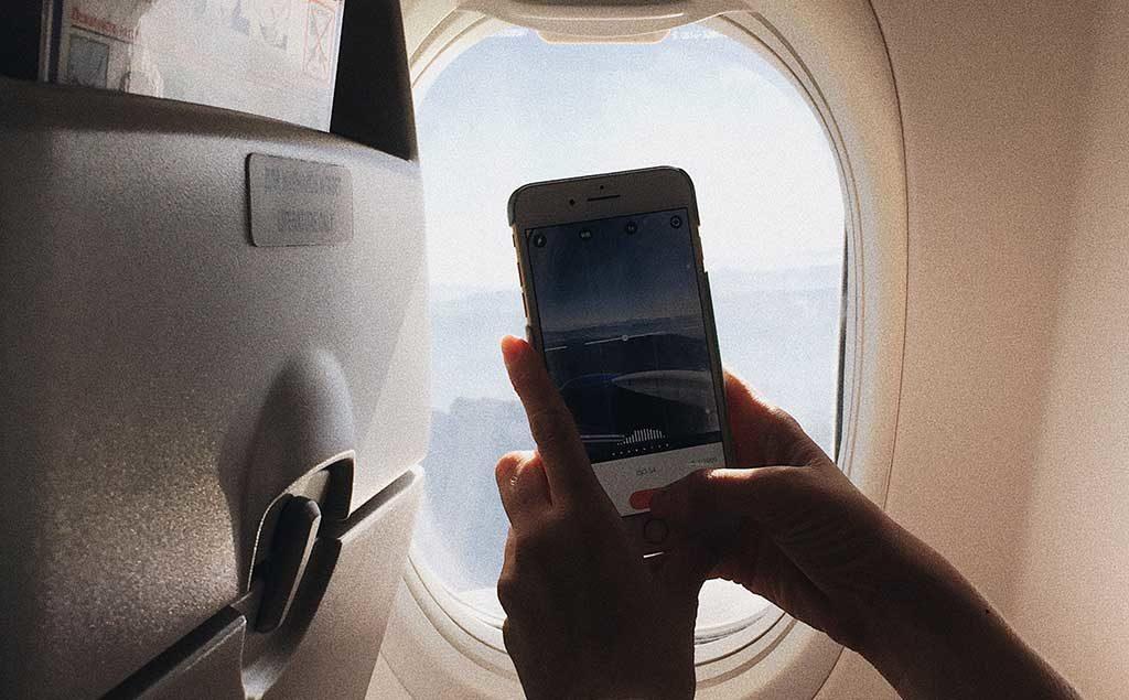 Fotografieren Filmen Im Flugzeug Das Ist Erlaubt