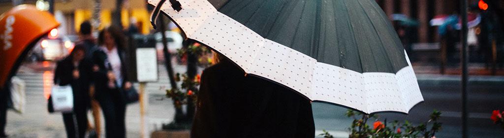 Regenschirm fürs Handgepäck
