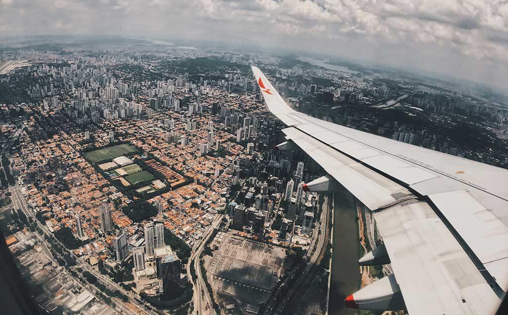 Flugzeug Abflug