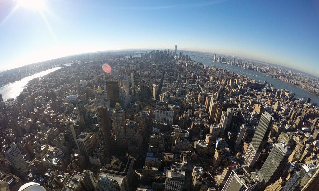 Sicht vom Empire State Building