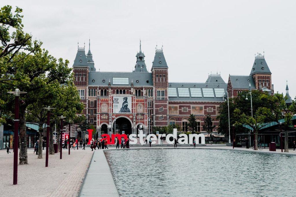 Amsterdam Museumplein Park