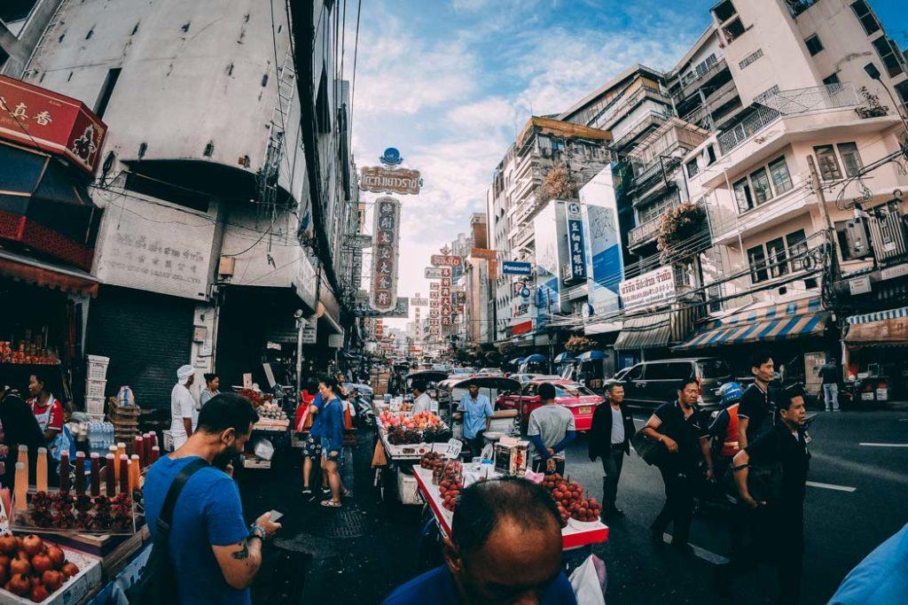 Bangkok Yaowarat Rd