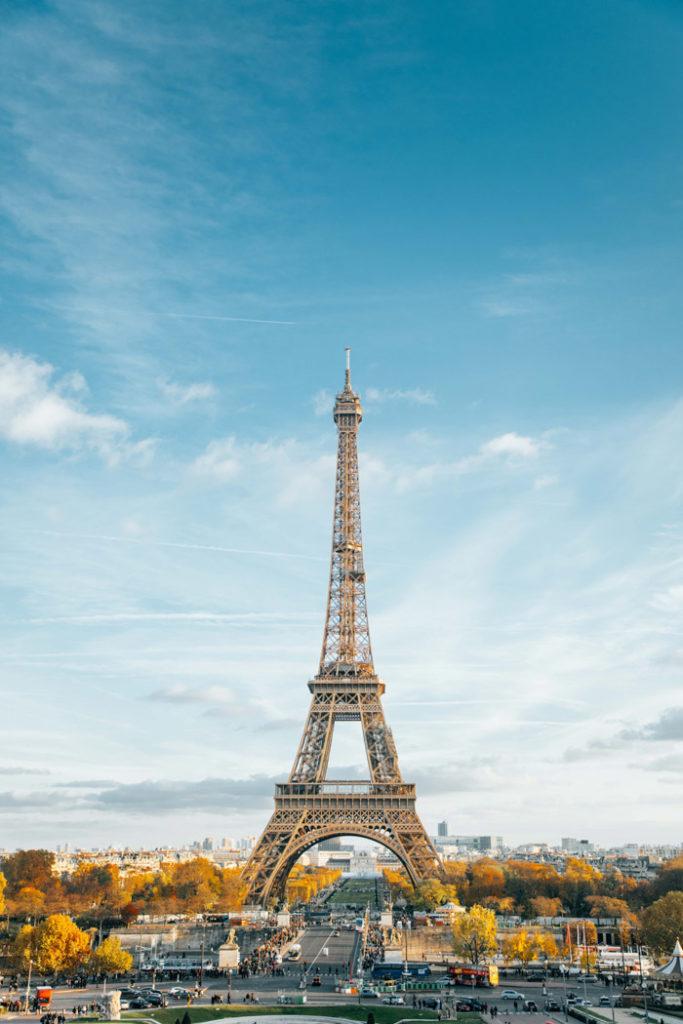 Paris Jardins du Trocadéro