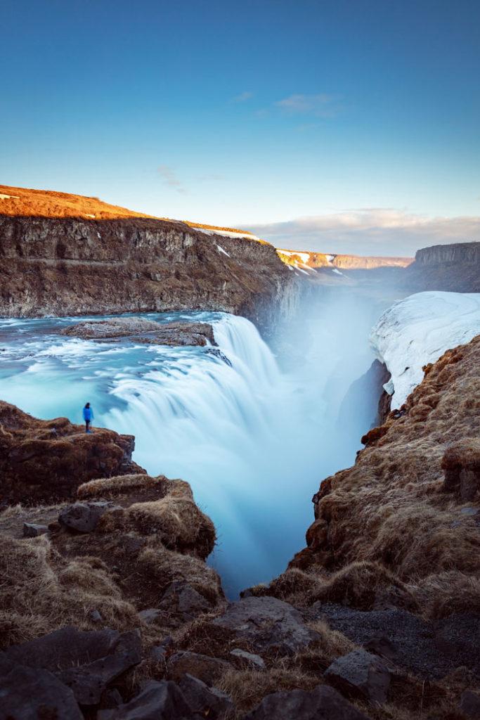 Reykjavík Golden Circle Tour Gulfoss Wasserfall