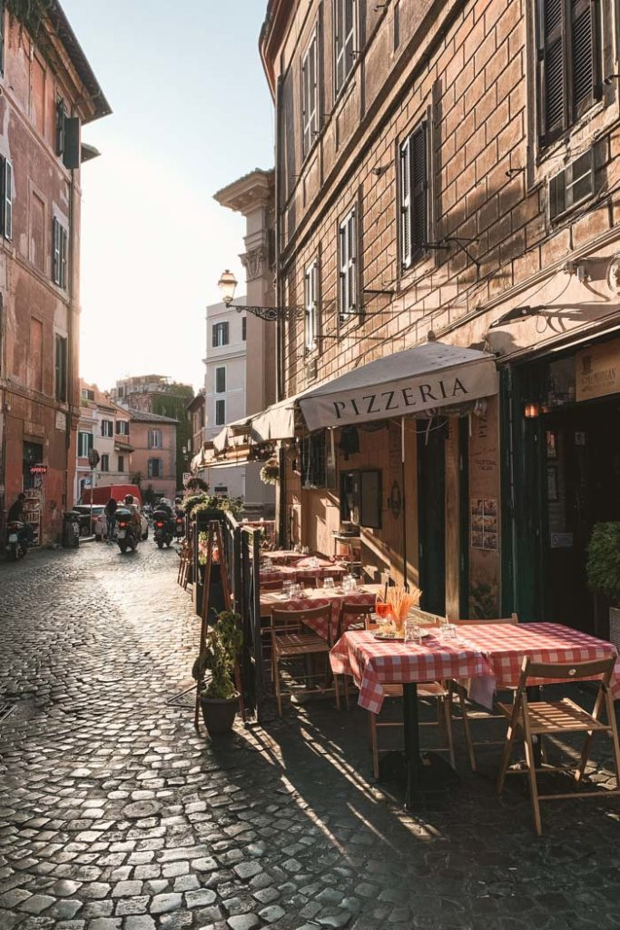 Rom Pizzeria in Trastevere