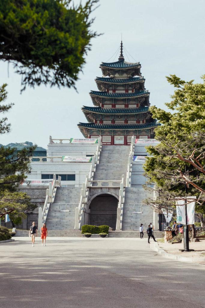 Seoul Gyeongbokgung Palast