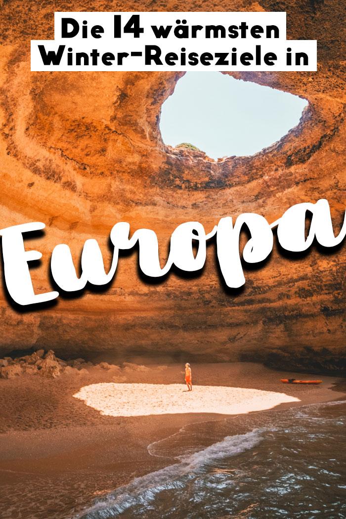 warmes Europa im Winter