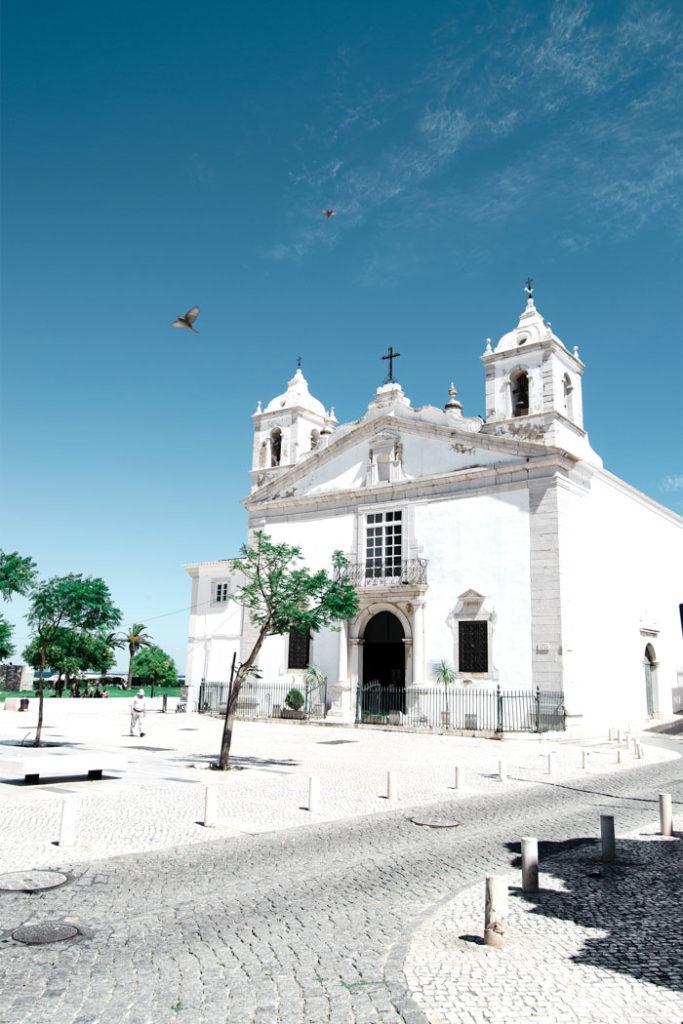 Algarve Kirche in der Altstadt von Lagos