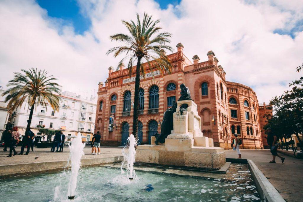 Andalusien Teatro Falla in Cádiz
