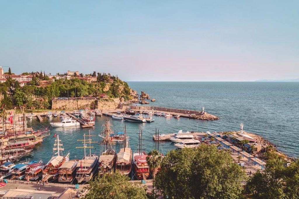 Antalya Hafen von Kaleici