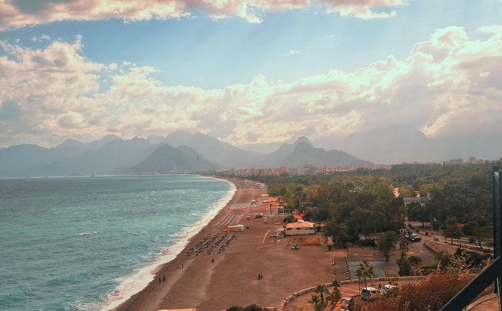 Antalya | Blick auf Konyaaltı Beach