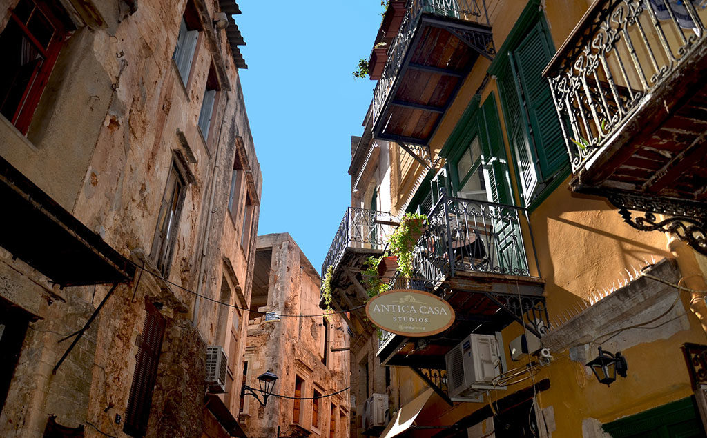 Kreta | Seitengasse in Chiana