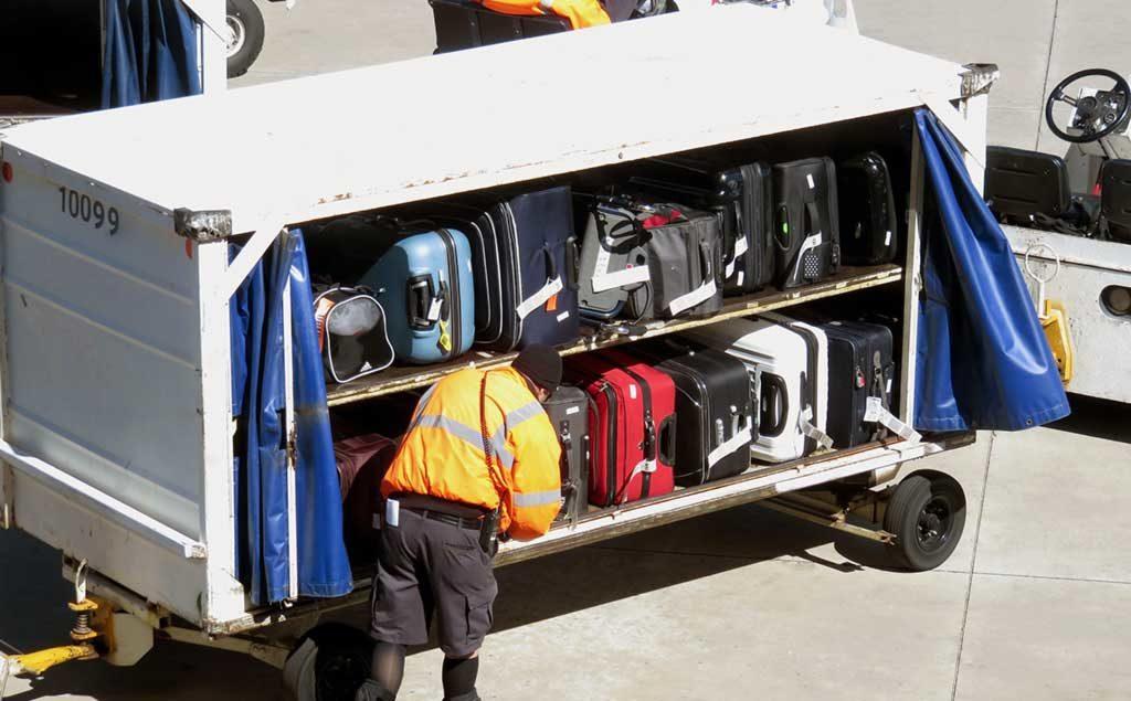 Flughafen Gepäck