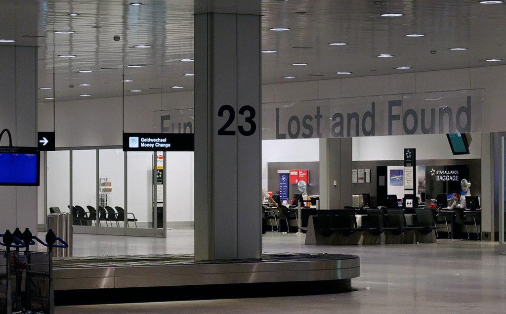 Fundbüro am Flughafen Zürich