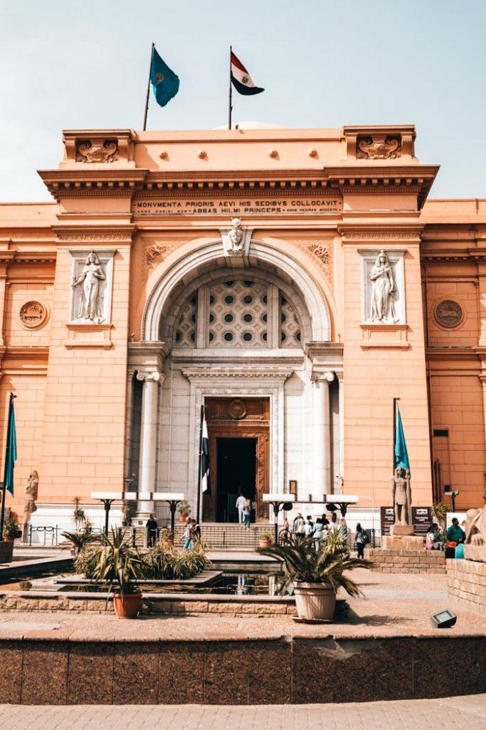 Kairo Gizeh Ägyptisches Museum Kairo
