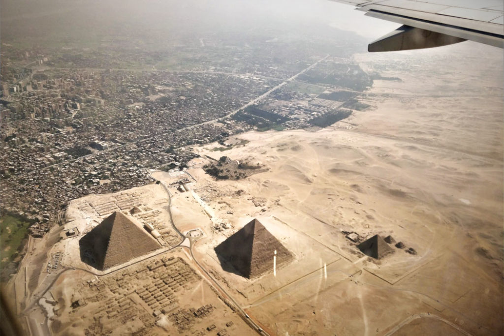 Kairo Gizeh Die Pyramiden von Gizeh