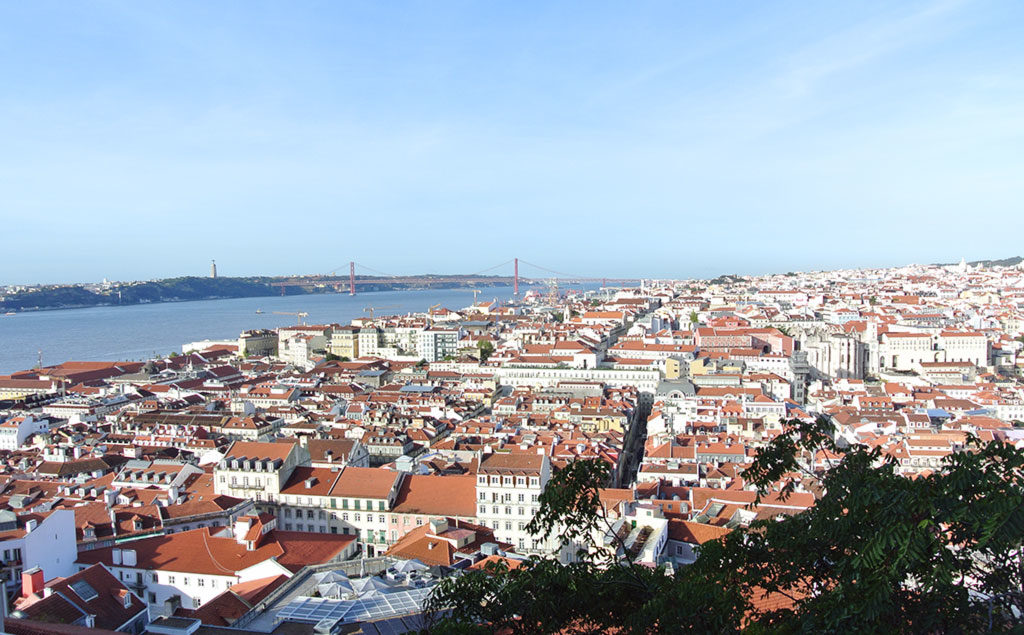 Lissabon | Aussicht aus der Festung Castelo de São Jorge