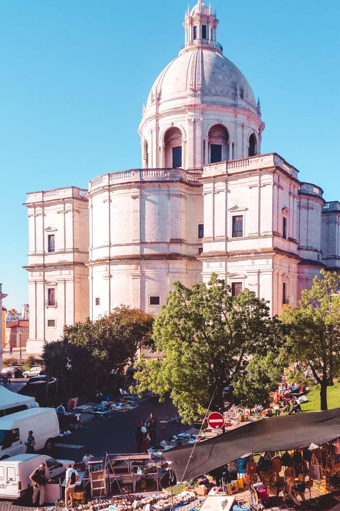 Lissabon Igreja de Santa Engrácia
