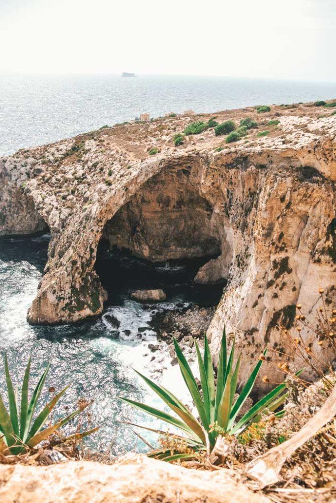Malta Blaue Grotte