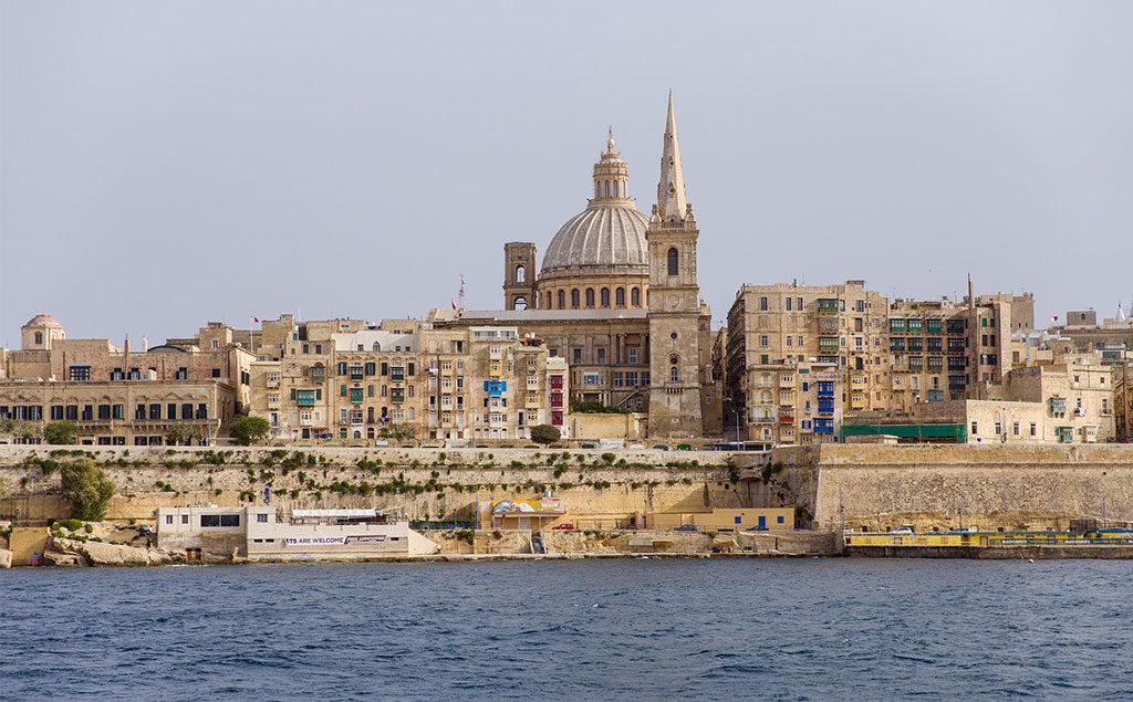 Valletta | Blick auf die Karmelitenkirche