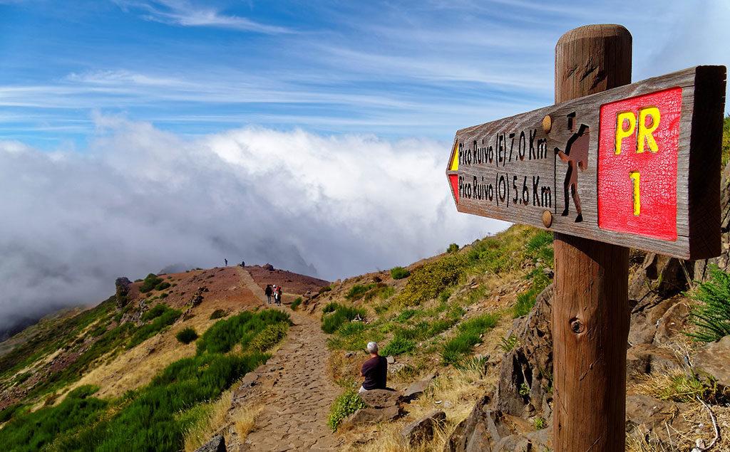 Madeira | Wanderweg zum Pico Ruivo