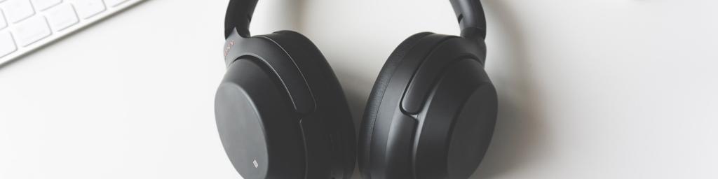 Bluetooth Kopfhörer von Sony in schwarz