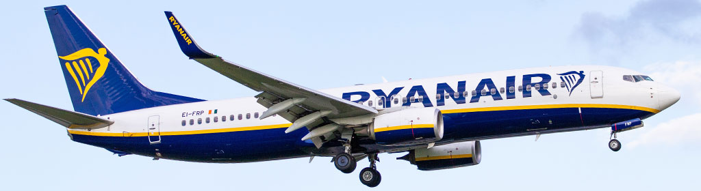 Ryanair Flugzeug Take Off