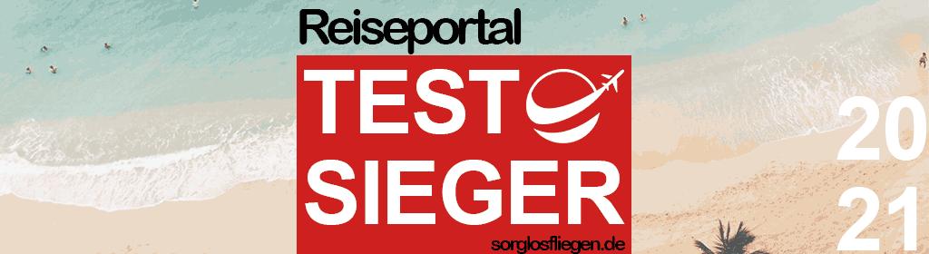 Reiseportal testsieger 2021